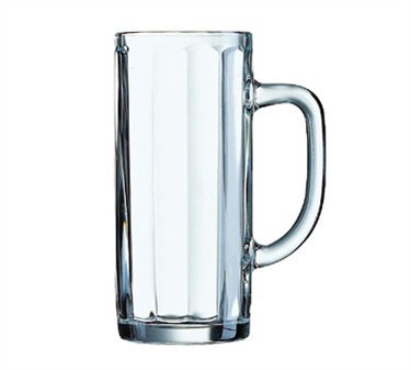 Minden 16 Oz. Glass Beer Mug - 6-9/16