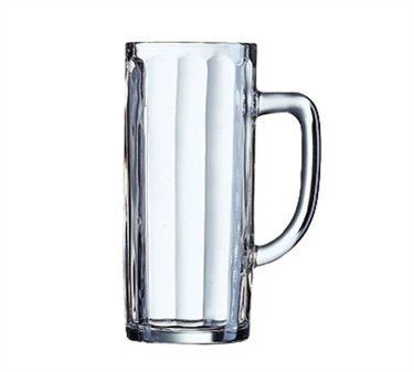Minden 20-1/2 Oz. Glass Beer Mug - 7-1/4