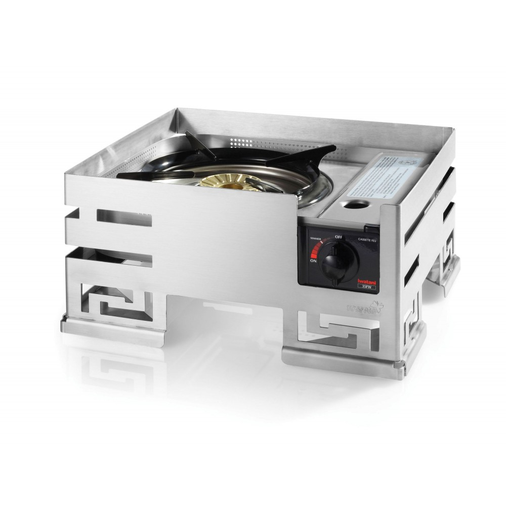 "Rosseto SM216 Mini-Chef Stainless Steel Warmer 13"" x 14"" x 6.85"""