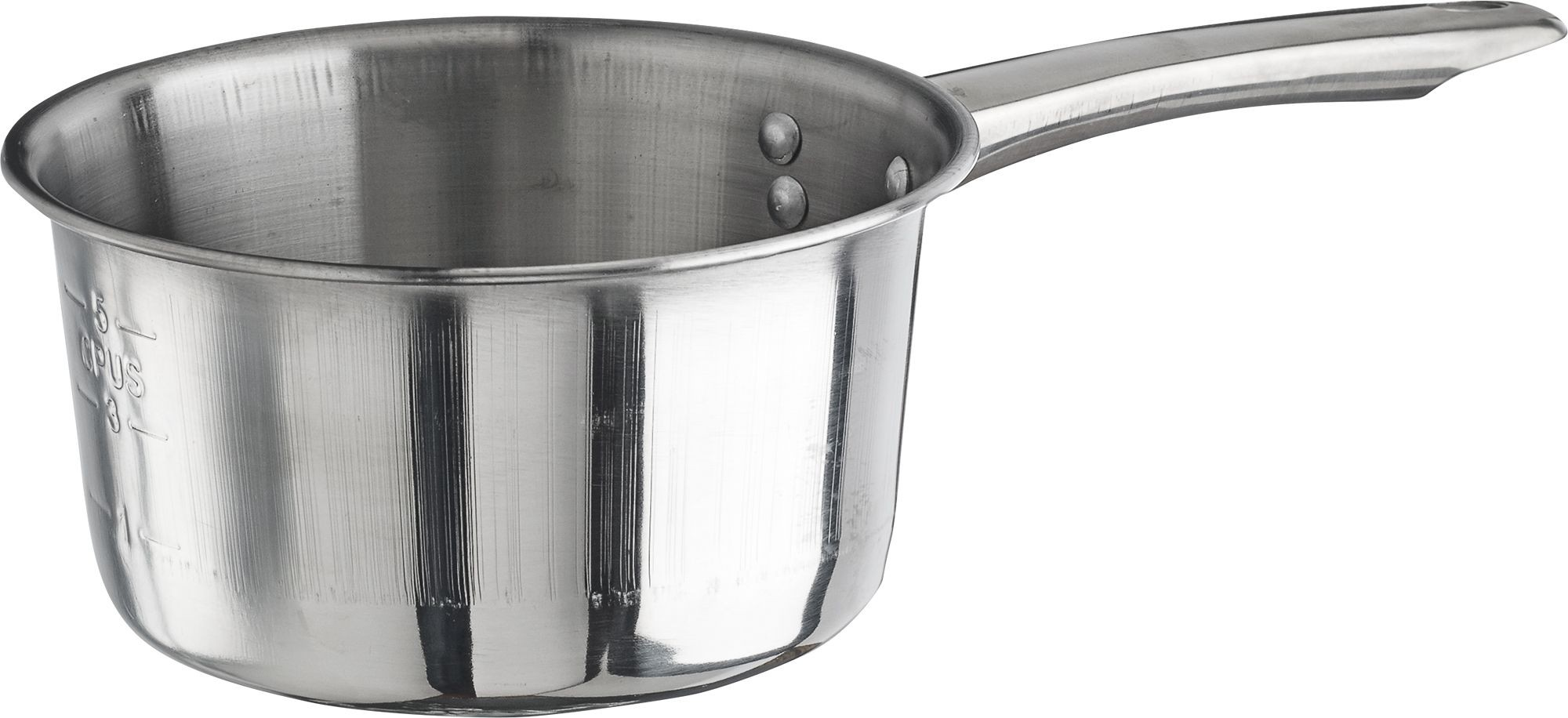 Winco SAP-2 Stainless Steel 2 Qt Sauce Pan