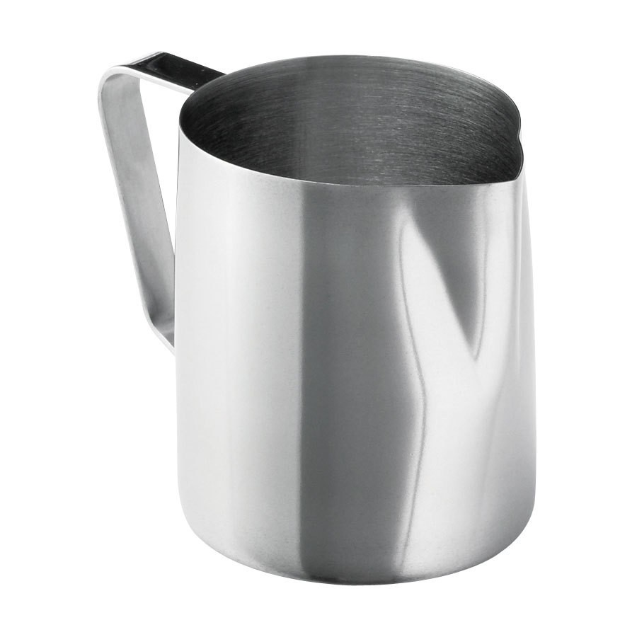 Mirror Finish Stainless Steel 12-14 Oz. Frothing Cup