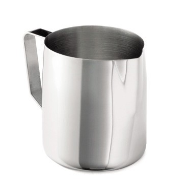 Mirror Finish Stainless Steel 44-48 Oz. Frothing Cup