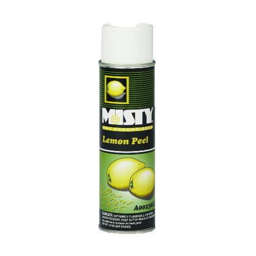 Misty Dry Deodorant, 10 Oz, Aerosol, Lemon Peel
