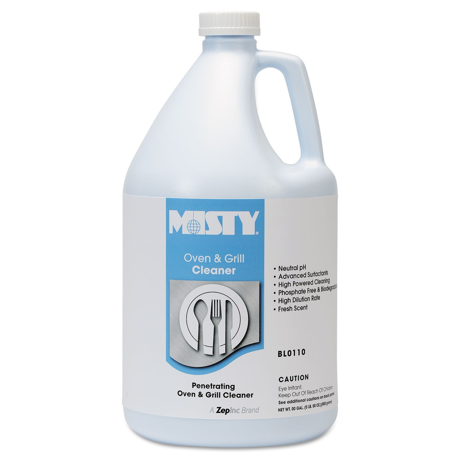 Misty Heavy-Duty Oven & Grill Cleaner, Gallon, Ready-to-Use