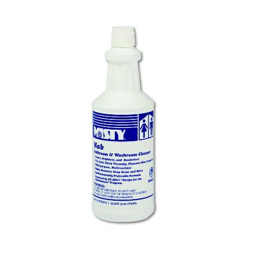 Misty NAB Non-Acid Bathroom Cleaner, 32 Oz Bottle