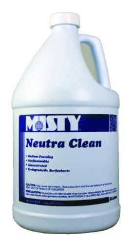 Misty Neutra Clean Floor Cleaner, Gallon Bottles