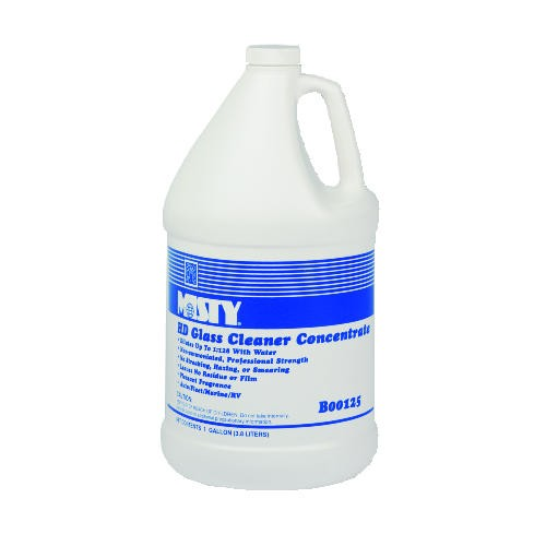 Misty Non-Ammoniated Heavy-Duty Glass Cleaner Concentrate, Gallon, Plesant Scent