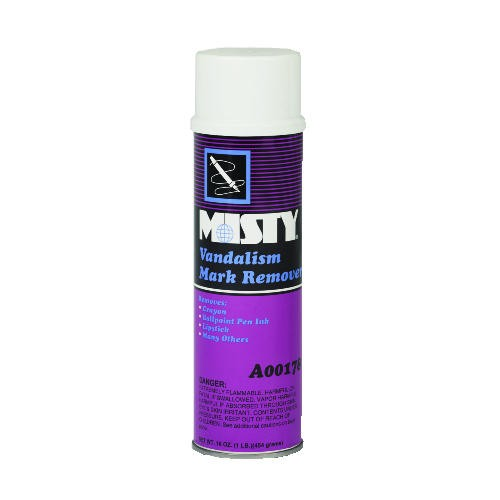 Misty Vandaliam Mark Remover, Small 16 Oz, Aerosol Can