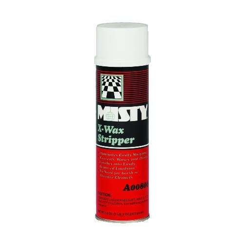 Misty X-Wax Stripper, 20 Oz, Aerosol