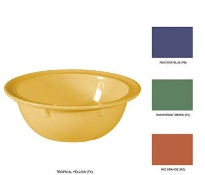 Mix Pack of 4 Mardi Gras Colors Melamine 13 oz. (13.7 oz. Rim-Full), 5.75
