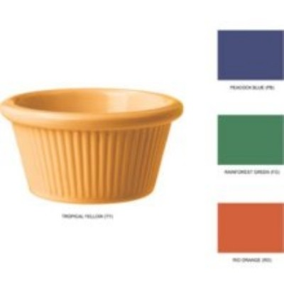 Mix Pack of 4 Mardi Gras Colors Melamine 3 oz., 3.25