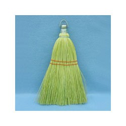 Mixed Fiber Whisk Brooms, Corn/Synthetic Fiber, 12