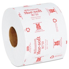 Morsoft Millennium Bath Tissue, 2-Ply, Individually Wrapped, 750/Roll