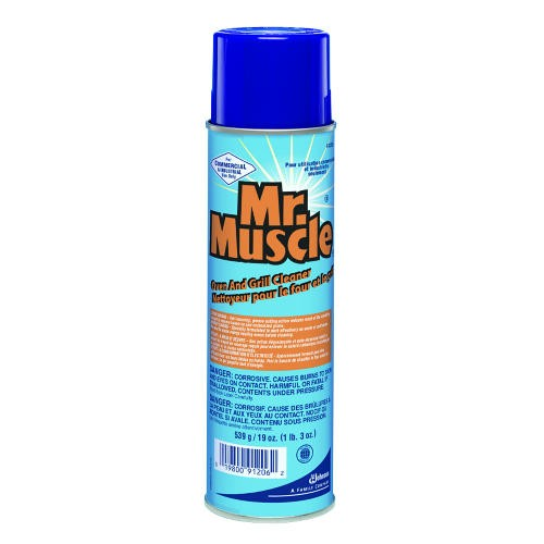 Mr. Muscle Oven & Grill Cleaner, 19 Oz. Aerosol Cans