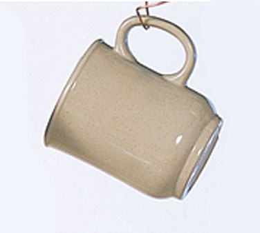 Thunder Group ML901S Nustone Sand Bulbous Mug With Handle, 8 oz.