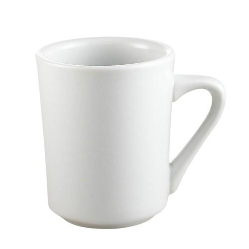CAC China si-8-p Clinton Porcelain Mug 8 oz.