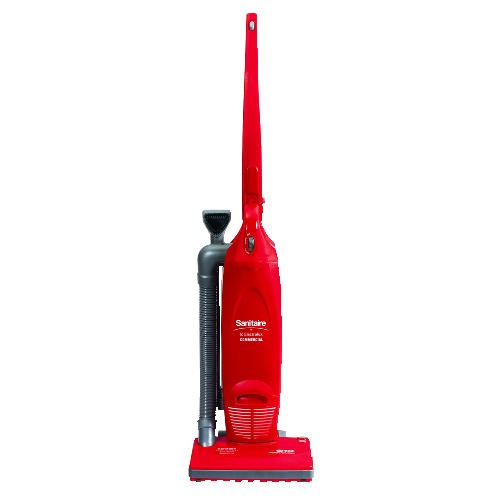 Multi-Pro Heavy-Duty Upright Vacuum, 13.75 lbs, Red