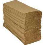 Multifold Paper Towels, 9 x 9 1/2, Kraft, 250/Pack