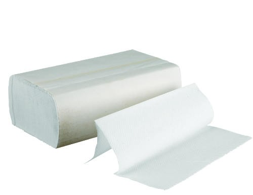 Multifold Paper Towels, Bleached White, 250 Towels/Pack, 16 Packs/Carton