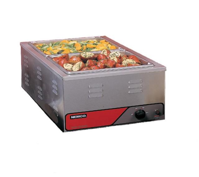 Nemco 6055A-CW Full Size Countertop Cooker/Warmer
