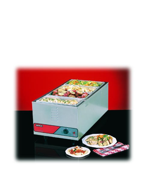 NEMCO Jumbo 4/3 Food Warmer - NSF