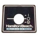 Franklin Machine Products  176-1441 NamePlate (Blender)
