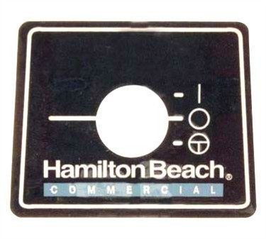Franklin Machine Products  176-1441 NamePlate (Blender)