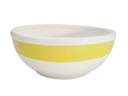 CAC China R-18-Y Rainbow Yellow Nappie 15 oz.
