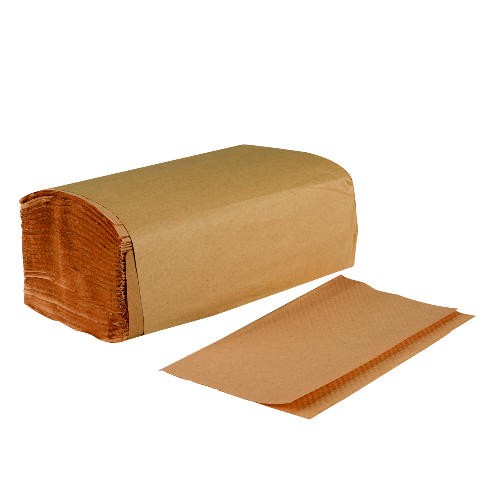 Natural Brown Single-fold Paper Towels 9 x 9.45