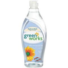 Natural Dishwashing Liquid, Free & Clear, 22 oz.