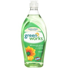 Natural Dishwashing Liquid, Original Scent, 22 oz.