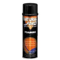 Natural Force Foaming Degreaser, Citrus, 20oz, Aerosol