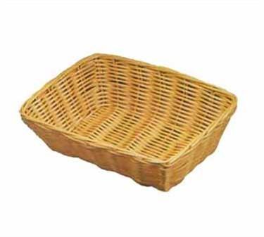 Natural Poly Cord Rectangular Woven Basket - 9