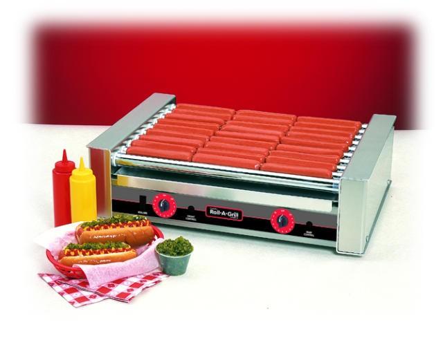 Nemco 8027 27-Hot Dog Roller Grill, 120V