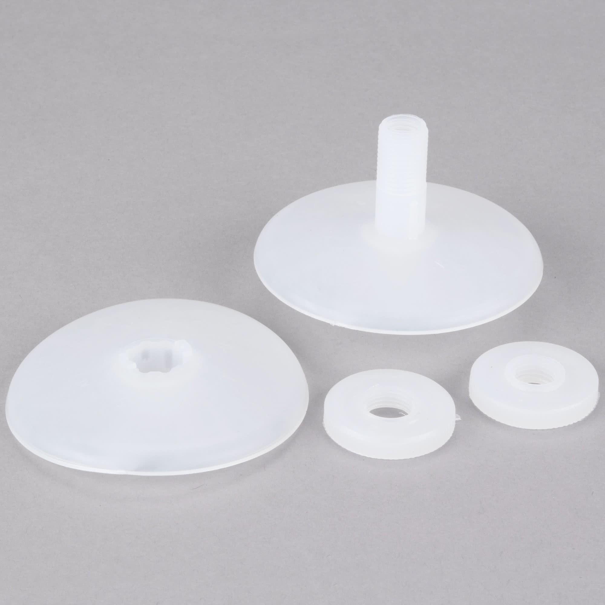 Nemco 56014 Feeder Discs Set with Nuts for Nemco ShrimpPro