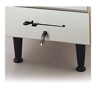 Nemco 66785 Set Of 4 Stainless Steel Legs for Mini Steamtables