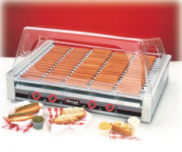 Nemco 8075 75-Hot Dog Roller Grill, 120V