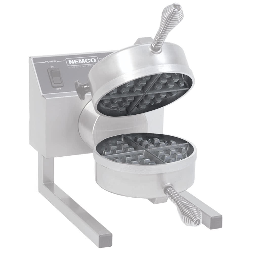 Nemco 77002 Aluminum Grid Set for Removable Belgian Waffle Baker