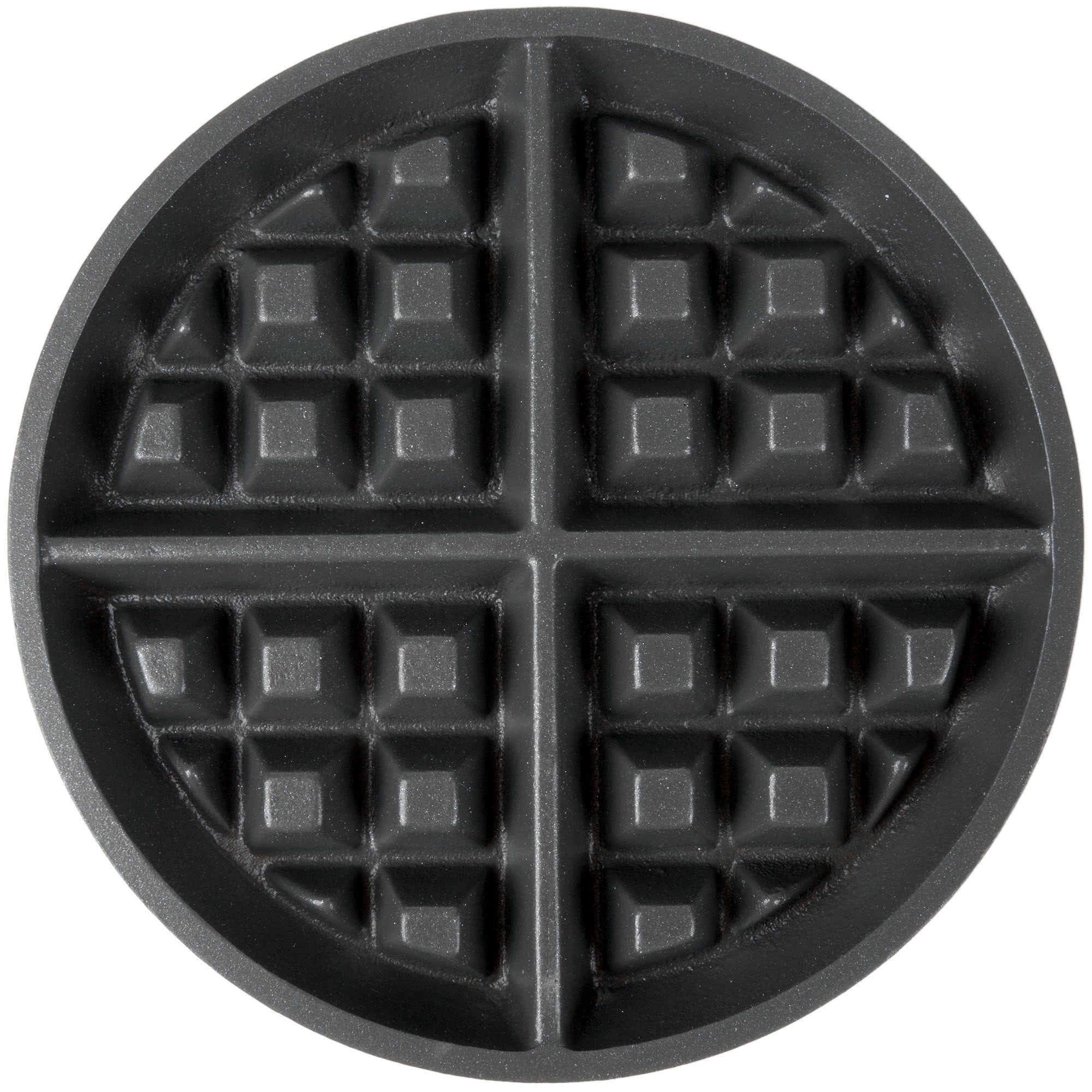 "Nemco 77003 Removable 7"" Silverstone Grid Set with Grid Post for 7020 Series Waffle Makers"