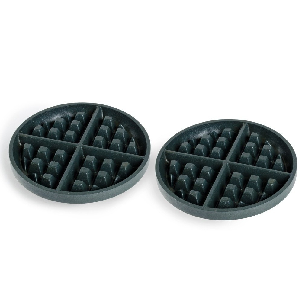 "Nemco 7"" Iron Grid Set for Belgian Waffle Baker (#7020-1S)"