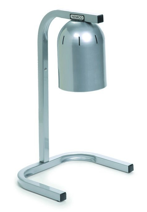Nemco 6000A-1A Compact Single Bulb Adjustable-Height Infrared Heat Lamp