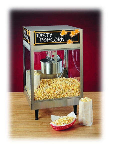 Nemco 6440 Countertop 8 oz. Electric Popcorn Popper