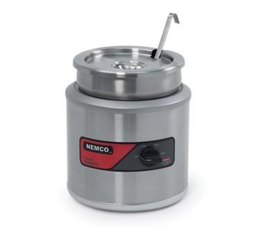 Nemco Countertop 7-Quart Round Soup Warmer