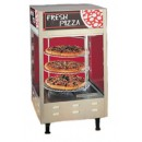 "Nemco 6452 4-Tier Double Door Rotating Pizza Merchandiser, 18"" Racks"