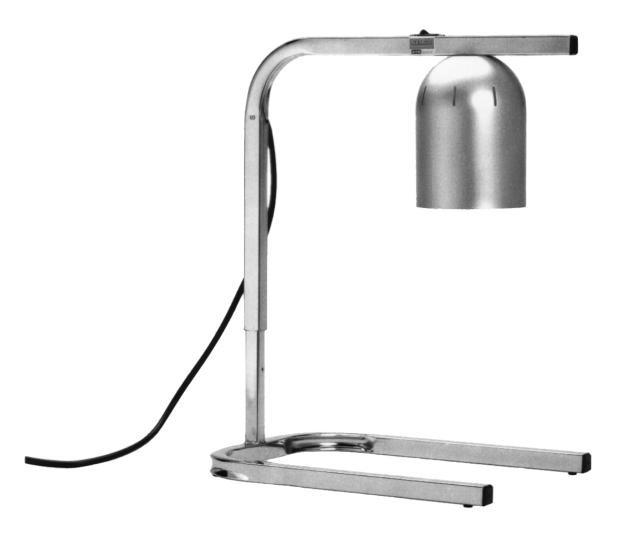 Nemco 6000A-1 Single Bulb Adjustable-Height Infrared Heat Lamp