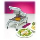 """Nemco 55975-SC Stainless Steel Easy Chicken Slicer 1/2"""" Scalloped"""
