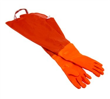Neoprene Green Dishwashing Glove Pair - 34