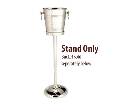 Nickel-Plated Brass Stand For Hammered Finish Wine Bucket (5198)