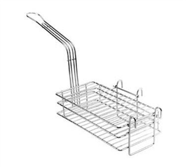 Franklin Machine Products  226-1103 Nickel-Plate d Chimichanga/Burrito Basket with Hinged Shelves