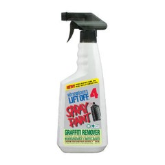 No. 4 Spray Paint Graffiti Remover, 22 oz. Trigger Spray
